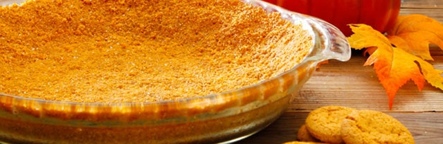 Pumpkin Snap Pie Crust