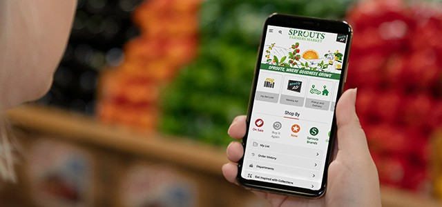 Sign up for a Sprouts account