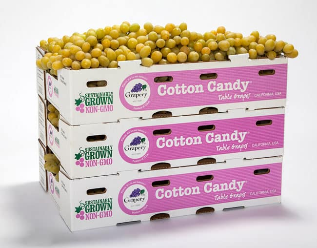 Cotton Candy Grapes in box