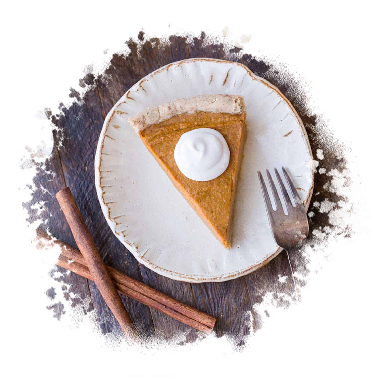 Paleo & Vegan Pumpkin Pie