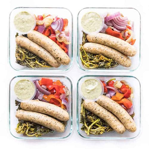 Keto sheet-pan sausage from Sprouts Farmers Market