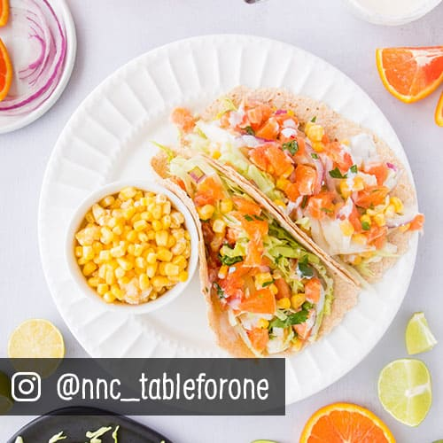 Tilapia Fish Tacos with Orange Salsa from Sprouts Farmers Market