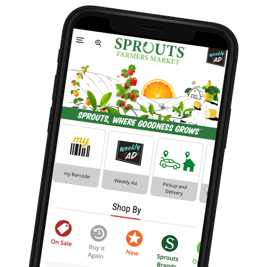 Mobile Phone Sprouts App