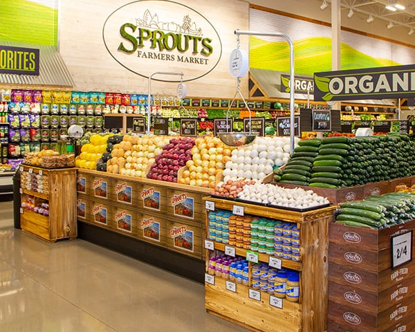 Sprouts Produce Department