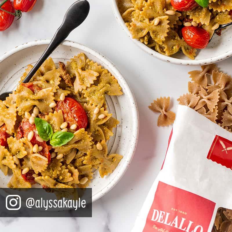 Organic pasta salad