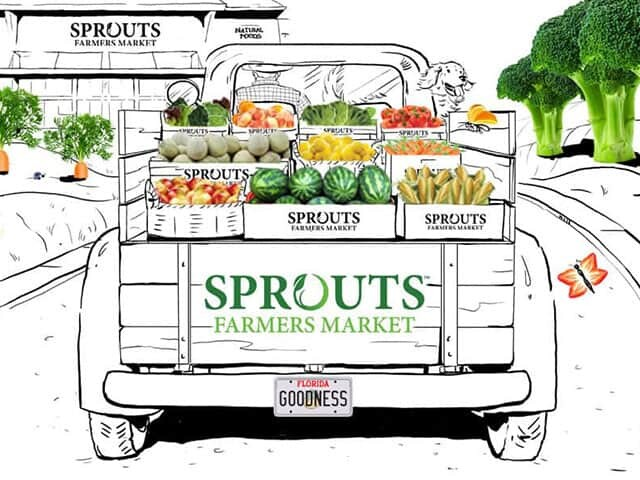 Florida Sprouts Truck