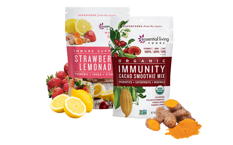 Essential Living Foods Immune Support Drink And Smoothie Mix