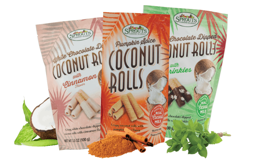 Sprouts Coconut Rolls